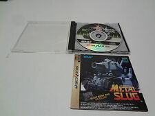 Metal Slug no spine Sega Saturn Japan