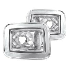 For Hummer H2 2003-2008 IPCW Chrome Crystal Turn Signal/Corner Lights