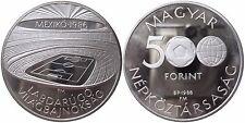 UNGARN KM 656   500 Forint WM Mexico 1986 von 1986 in PP  1502515