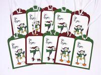 Stampin Up Christmas Gift Tags Christmas Tags Penguin Gift Tags