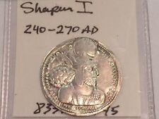 ANCIENT COIN Sasanian Empire SHAPUR I (SHAHPUR) Drachm 240 - 270 AD