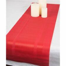 Ogilvies Designs - Woven Living Frame Tablerunner 30x120cm Red