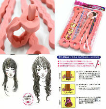 6pcs Magic Sponge Hair Soft Curler Roller Strip Heatless Roll Style Tool T7