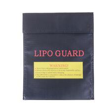 Black Fireproof RC LiPo Battery Safety Bag Safe Guards Charge BagSack180*230~GN