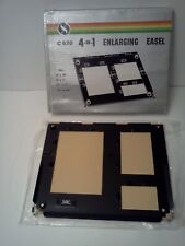 4 In 1 Enlarging Easel 8 X 10, 5 X 7, 3 1/2 X 5 And 21/4 X 3 1/4 NEW IN BOX