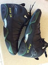 RARE JORDAN 9.5 RAY ALLEN SIGNED /AUTO GAME USED SONICS SHOES