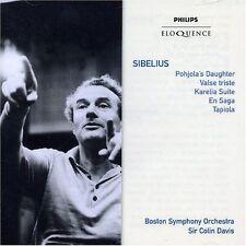 SIBELIUS Pohjola's Daughter/Valse Triste/Karelia CD NEW Boston Symphony Davis