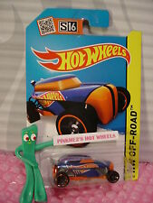 Case P/Q 2015 i Hot Wheels RIP ROD #96∞Recolor Blue/orange∞Test Facility