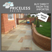 Indian Sandstone Paving SAMPLE PACK! Patio Slabs, try before you buy