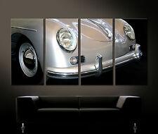 Vintage Frontal DETALLES PORSCHE 356 Speedster arte lienzo PINTURA ART Cuadro