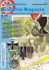 Internationales Militaria-revista imm 157, cruz de hierro I. clase, medallas......