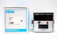 1pc Fotek HC-41P 4 Digit Counter DIN 72x72mm Ni-Cd Battery Memory Taiwan