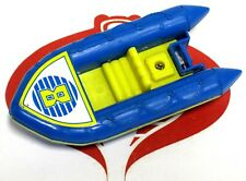 Tomy Mighty Motor Boats Blue & Yellow #8 Raft Toy Boat
