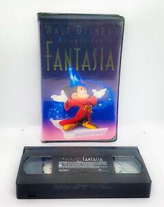 Vintage Walt Disney's Masterpiece Fantasia (VHS, 1991)