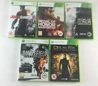 Xbox 360 Shooter Game Bundle | 5 Games Included | Boxed Microsoft Job Lot PAL A6