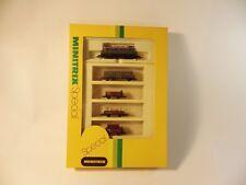MINITRIX 11014Spur N, 5-teil. Güterzug-Set, Lok DR 89643, Ep. II, OVP, MDL