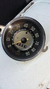 Vw classic beetle speedo