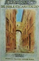 ALMANACCO DEI BIBLIOTECARI ITALIANI 1972