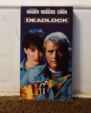 Deadlock Rare & OOP Action Sci-Fi Movie Media/Video Treasures Release VHS
