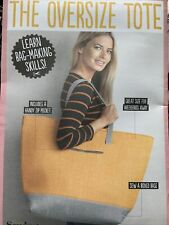 SIMPLY SEWING  THE OVERSIZE TOTE BAG  SEWING PATTERN