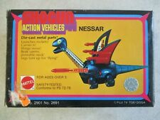 VINTAGE 1978 SHOGUN ACTION VEHICLES NESSAR MATTEL BOX AND INSERTS ONLY