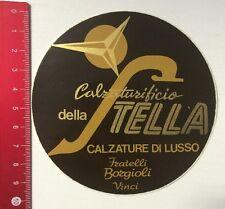 Aufkleber/Sticker: Calzaturificio Della Stella-Fratelli Borgioli Vinci(25031610)