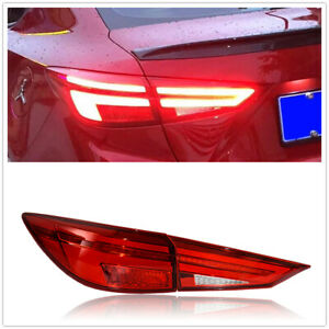 For Mazda 3 Axela LED Taillights Assembly LED Rear Lamps 2014-2018 AMA Red