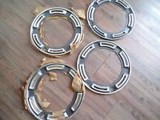 Ford Cortina Capri Escort Wheel Dress Rings Mk1 Mk2 N.O.S Genuine Ford 13""