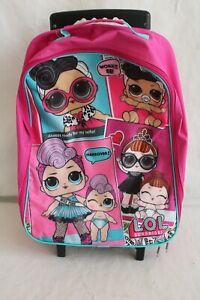 Lol Surprise Trolley Backpack Nursery School Trolley
