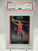 Trae Young RC 2018 Panini Chronicles Rookie #298 - PSA 10 Gem Mint