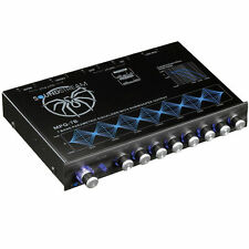 SOUNDSTREAM Equalizer offre, Mpq-7b 7 BAND Graphic Equaliser Processore Segnale EQ