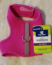 New listing Top Paw Padded Vest Harness, Fuschia Mesh, reflective strip - Nwt - Xxs