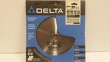 "Delta 35-7666 12"" Circular Saw Blade/ Non-Ferrous Metals 80 teeth 1"" Arbor hole"