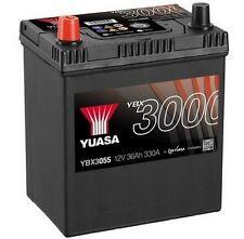 YUASA 12V Car Battery YBX3055 Chevrolet Matiz, Spark, Geo, Honda CRX, Reliant