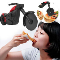 Motorcycle Pizza Cutter Wheel Roller Tool Bicycle Pizza Knives Kitchen Cut