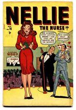 NELLIE THE NURSE #14 1948-TIMELY-PATSY WALKER-GOOD GIRL ART