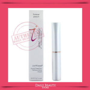 Jane Iredale Just Kissed Lip and Cheek Stain 3g 0.1oz Forever Peach NEW FAST