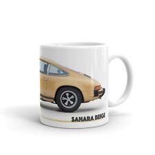 Porsche Mug – Sahara Beige – 911 Carrera