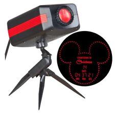 Disney Countdown To Christmas LED Lights Rotating Projector Light Spotlight NEW