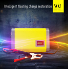 Portable 12V Car Battery Charger Maintainer Auto Trickle Tender Truck Motorcycle