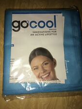Go Cool Instant Cooking Towel- 2 Towels Per Package Blue Color 2 Packages Total