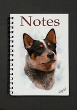 Australian Cattle Dog Notebook/Notepad + small image on every page - Starprint