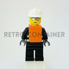 LEGO Minifigures - 1x wc016 - Fireman - Pompiere Omino Minifig Set 7043 7046