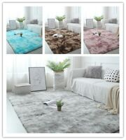 Large Soft Shaggy Rugs Fluffy Living Room Area Carpets Home Bedroom Floor Mat *