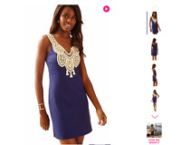 SALE Brand New Retail$198 Lilly Pulitzer LARGO SHIFT DRESS COLOR: True Navy