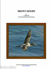 BROWN BOOBY - cross stitch chart