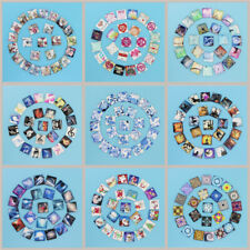 Mix 50PCS 25MM Square Glass Dome Cabochon Flatback Cameo Photo Jewelry Beads