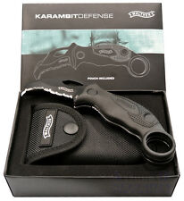 Walther Karambit Defense Knife 5.0764 navaja KDK Claw cuchillo 440c acero