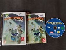 SAM & MAX BEYOND TIME AND SPACE NINTENDO WII - PAL ESPAÑA - COMPLETO  -
