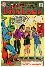 Lois Lane 96 FN- 5.5 DC 1969 Cary Bates Curt Swan Kryptonite Cover